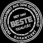 Siegel Beste Qualität Alois Müller